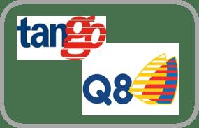 De Q8 Liberty Card - ook wel Tango Tankpas -  geschikt als tankpas zzp