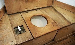 Mijn smartphone op de bodem van toilet