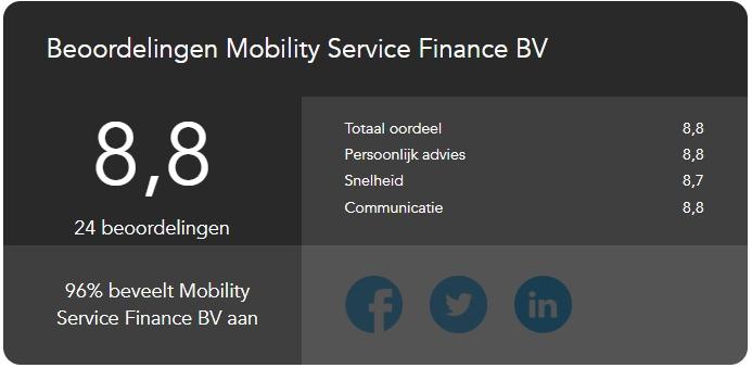Klanten Vertellen over MSF - Lease auto voor ondernemer