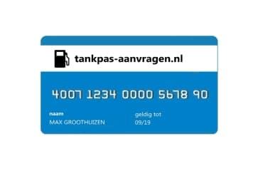 Tankpas aanvragen voor zzp en mkb