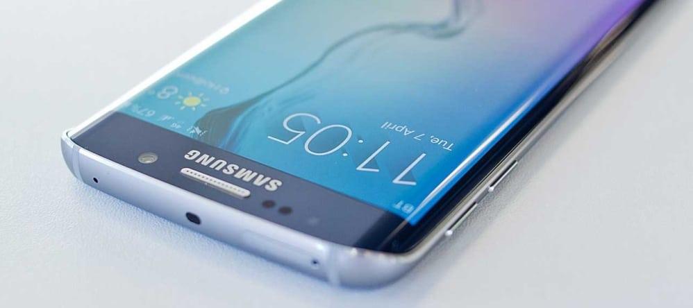 zakelijke smartphone Samsung S7