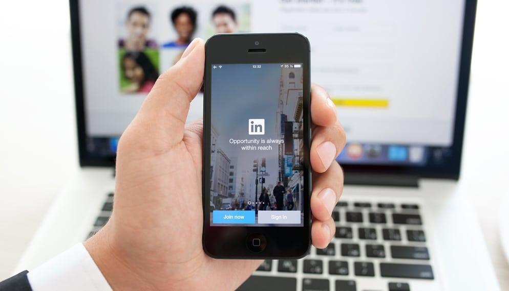 LinkedIn zakelijke app, een van meest handige apps