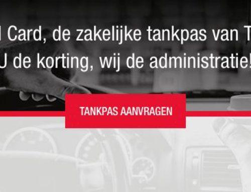 Tankpas-aanvragen uitgebreid met Total Card tankpas