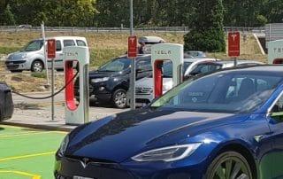 Volledige elektrische auto