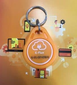 Laadsleutel e-Flux nodig bij oplaadpunten