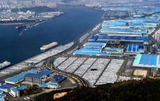 auto industrie in Korea