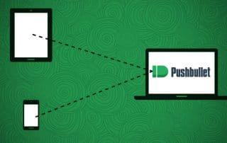 bestanden delen via Pushbullet