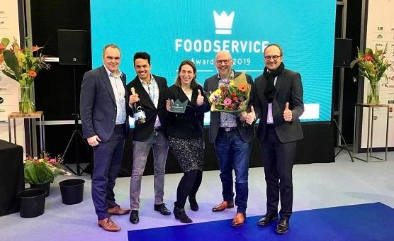 Cafe Bonjour van Total wint foodservice award