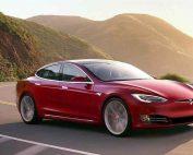De elektrische auto's van Tesla