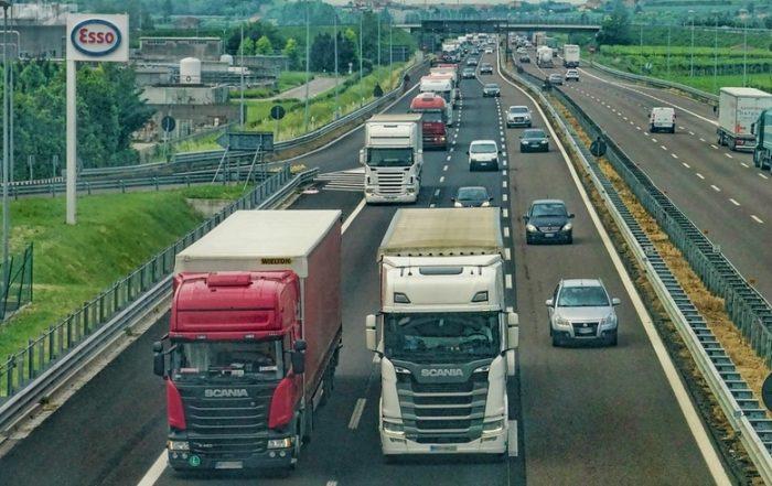 Uitstoot van vrachtwagens