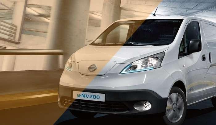 Elektrische bestelbus van Nissan