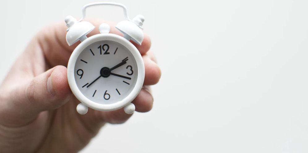 tijd schrijven een motje
