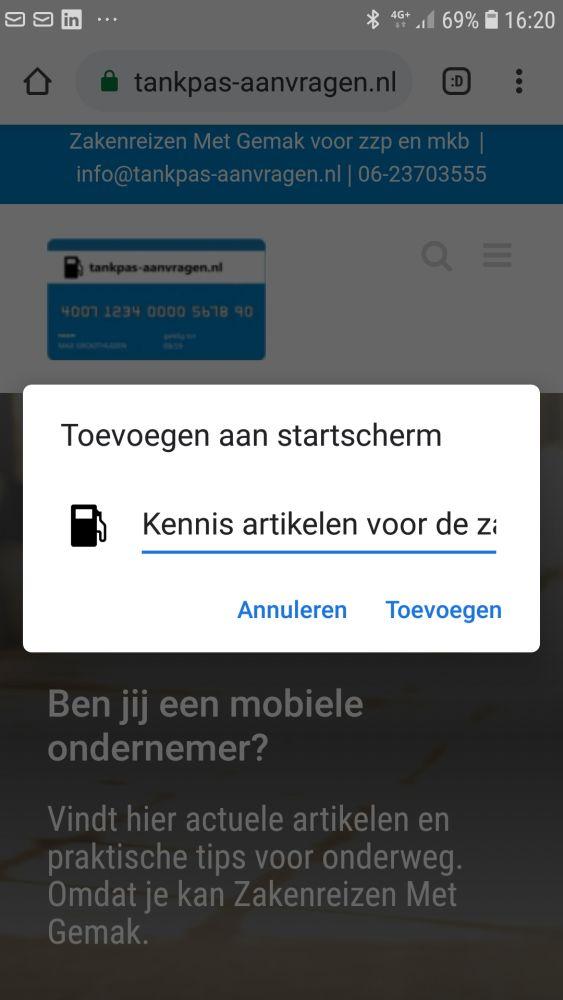 Nieuws voor zakenreiziger app