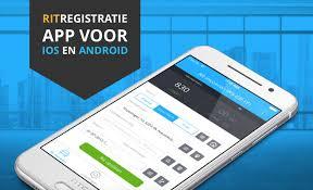ritregistratie app voor android en iOS