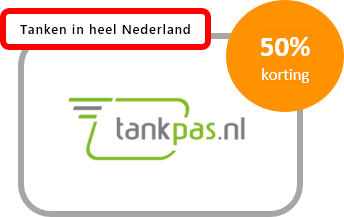tankpas.nl met 50% korting