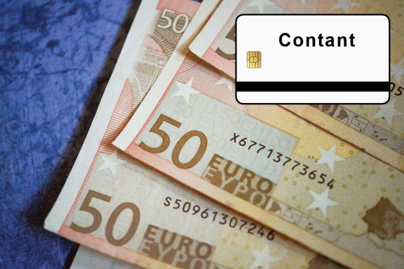 overzicht betaalmethoden - contant