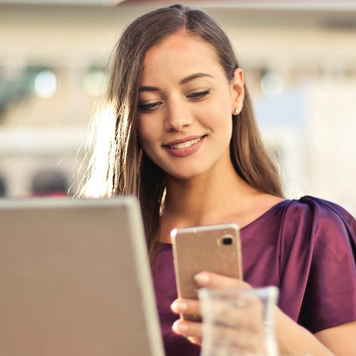 Smartphone en administratie