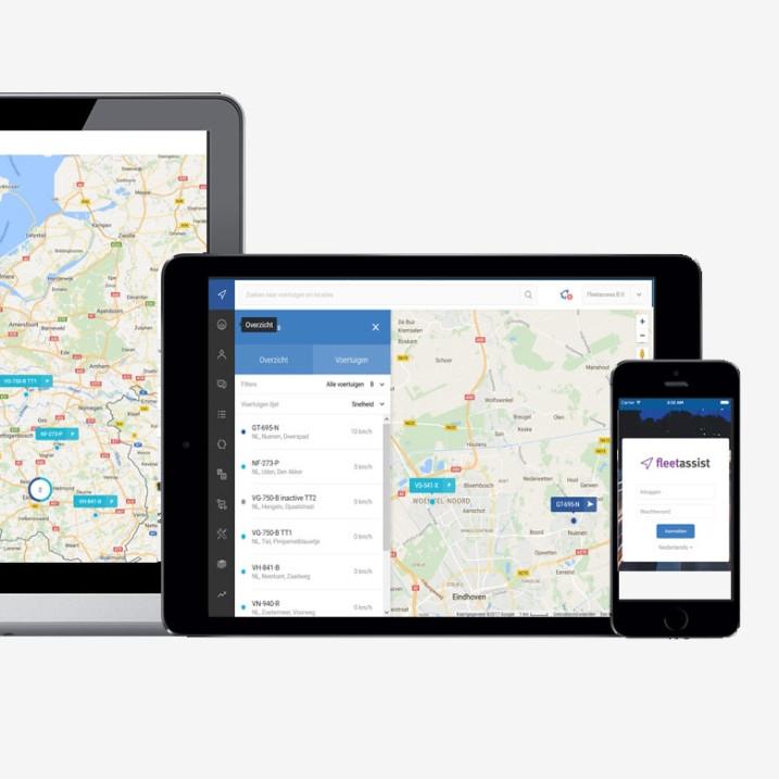 handige apps voor de kilometerregistratie