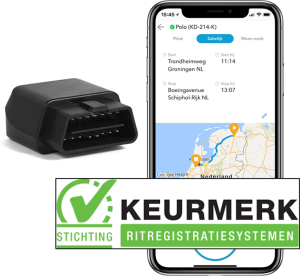 kilometerregistratie van Cartracker - dongle KKR