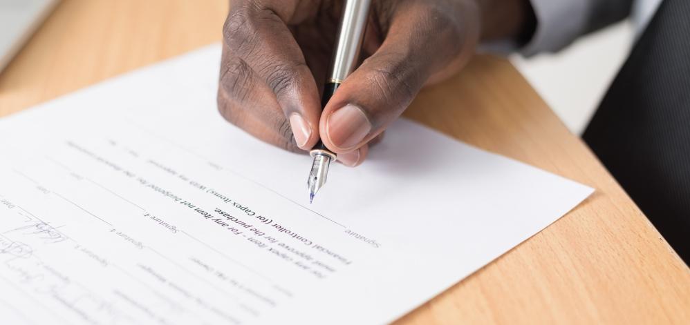 AV juridisch document